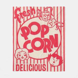MOVIE NIGHT Popcorn Box Blanket