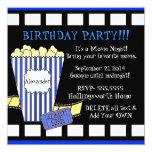 Movie Night-Popcorn Film Strip