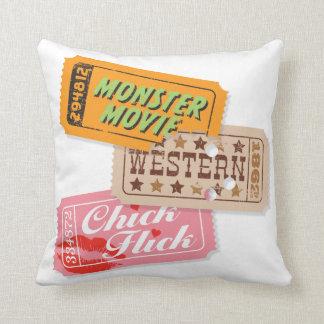 Movie Night Trio Pillow — SQUARE