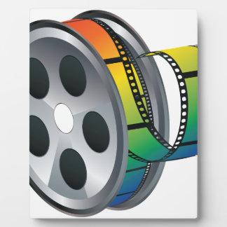 Movie Reel 2 Plaque