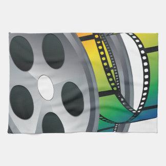 Movie Reel 2 Towel