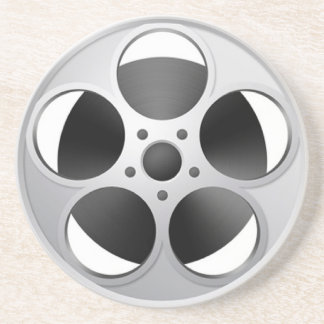 Movie Reel coaster bar film stars technology  pict
