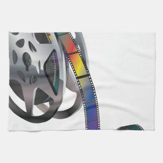 Movie Reel Kitchen Towel