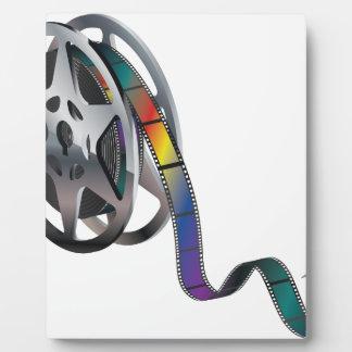 Movie Reel Plaque