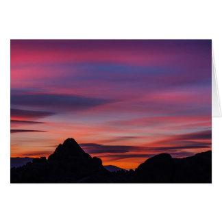 Movie Road Sunrise Card