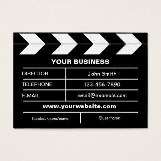 Movie Slate Business Card