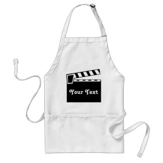 Movie Slate Clapperboard Board Adult Apron