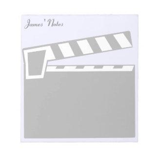 Movie Slate Clapperboard Board Notepads