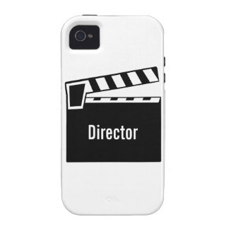 Movie Slate Clapperboard Vibe iPhone 4 Cases
