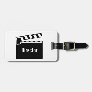 Movie Slate Clapperboard Tag For Bags