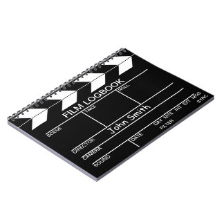 Movie Slate Note Book