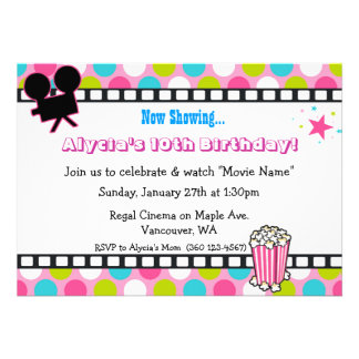 Movie Star Birthday Card