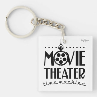 Movie Theater Time Machine podcast Keychain