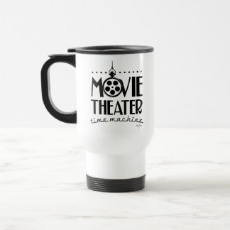 Movie Theater Time Machine podcast Travel Mug