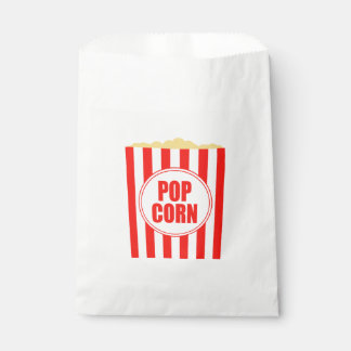 Movie Themed Popcorn Design Favour Bag