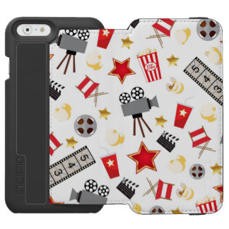 Movie Time Pattern Incipio Watson™ iPhone 6 Wallet Case