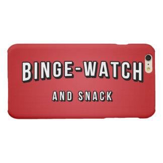 Movie Tv Night Binge Watch and Snack