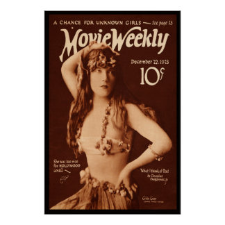 Movie Weekly with Gilda Grey Poster