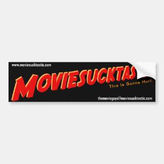 Moviesucktastic Bumper Sticker