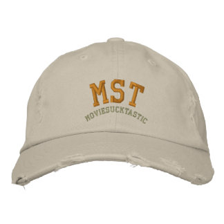 Moviesucktastic Distressed Baseball Cap