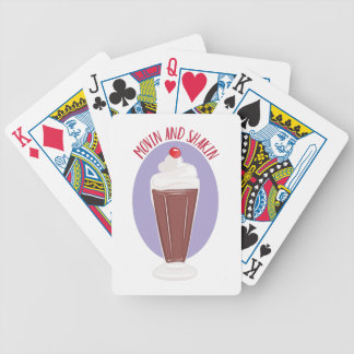 Movin And Shakin Bicycle Playing Cards