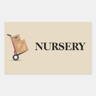 Moving Box Label - Nursery