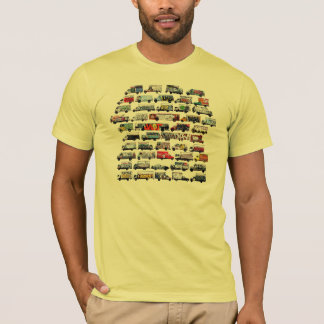 Moving Canvases: Bay Area Graffiti Trucks T-Shirt