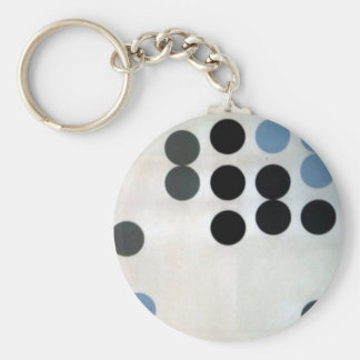 Moving Circles by Sophie Taeuber-Arp Keychain
