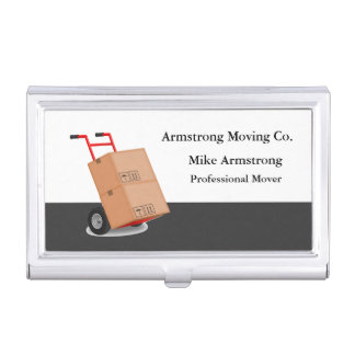 Moving Company Mover Dolly Cart Case For Business Cards