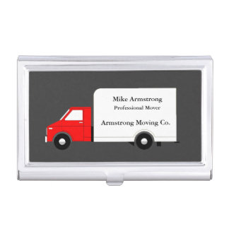 Moving Company Moving Truck Mover Case For Business Cards