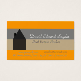Moving House  Housing Business Card