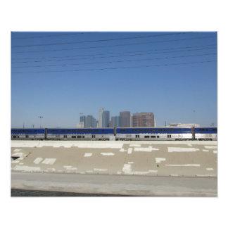 Moving L.A. Photo Print