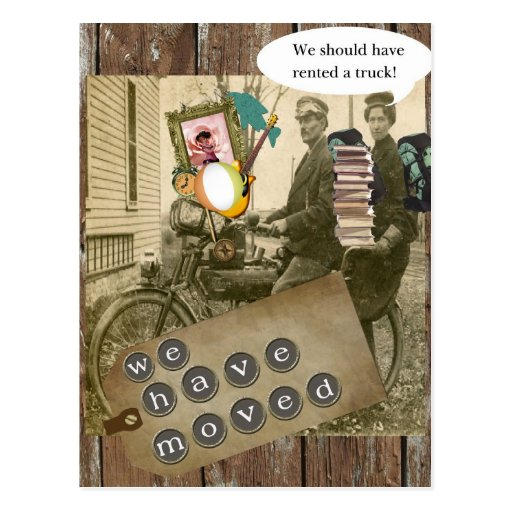 Moving on A Bicycle Postcard