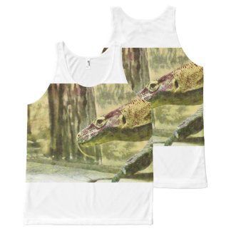 Moving slowly and deliberately All-Over-Print tank top