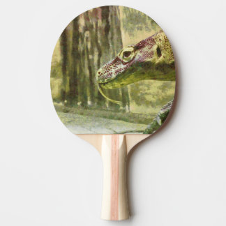 Moving slowly and deliberately Ping-Pong paddle