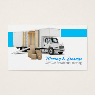 Moving & Storage Business Card