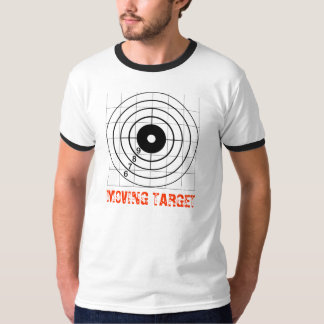 MOVING TARGET Ringer Shirt for guys