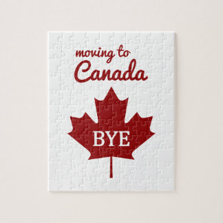 Moving to Canada Jigsaw Puzzle