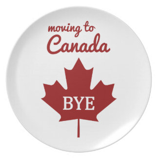 Moving to Canada Plate