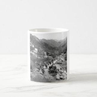 Moving up through Prato, Italy_War Image Coffee Mug