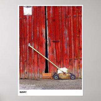 mower poster