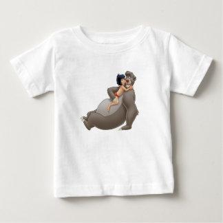 Mowgli Hugs Baloo Disney Baby T-Shirt
