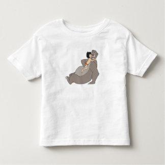 Mowgli Hugs Baloo Disney Toddler T-shirt