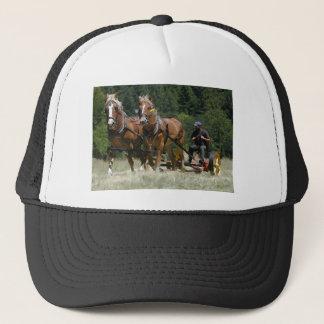 Mowing Hay Trucker Hat