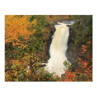 Moxie Falls in Autumn The Forks Maine Postcard