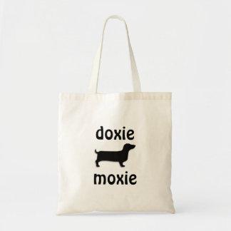 moxie fourre-tout de doxie sac en toile budget