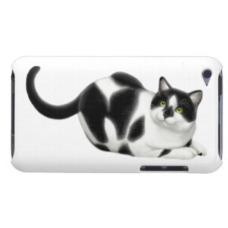 Moxie the Tuxedo Cat iPod Touch Case
