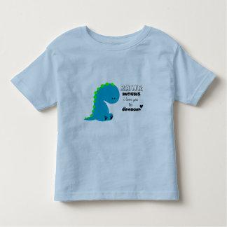 Moyens de Rawr je t'aime dans la chemise de Tee Shirts