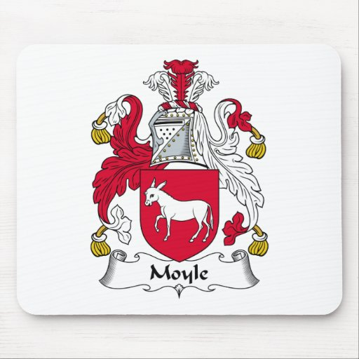 Moyle Family Crest Mouse Mats