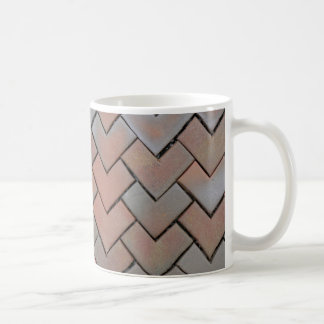 mozaic coffee mug brown love mozaics